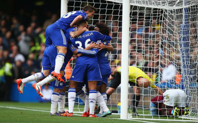 (Video) Diego Costa goal: Keeper error gifts Chelsea the lead against Aston Villa