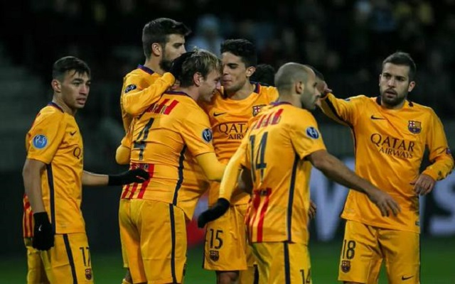 (Video) Ivan Rakitic brace fires Barcelona to an easy 2-0 win over BATE Borisov