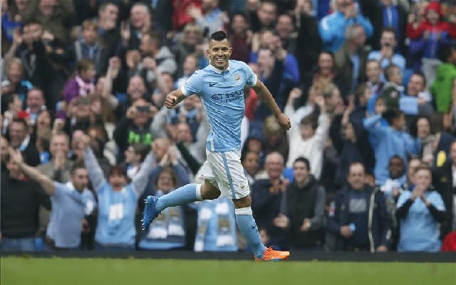 (Video) Sergio Aguero joins ex-Man United duo in elite club after five-goal heroics against Newcastle