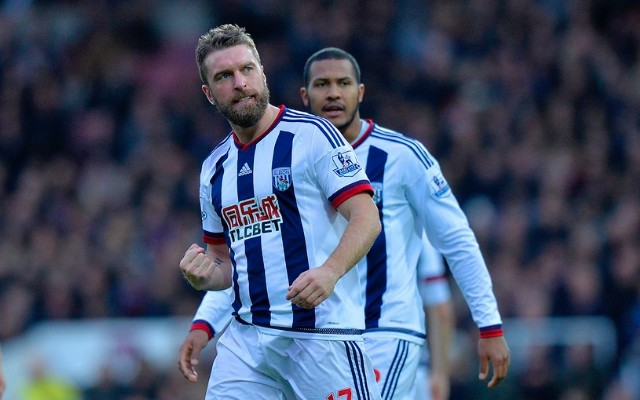 Rickie Lambert scores flukey first open-play goal since leaving Liverpool for WBA v West Ham (video)