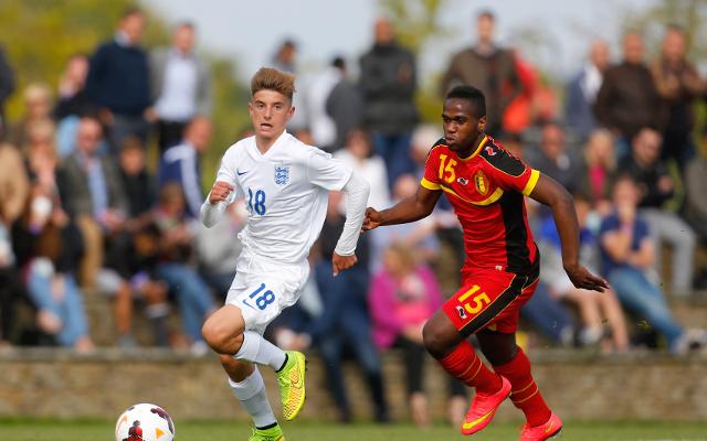 (Video) Chelsea teenage starlet scores sensational goal for England U17s