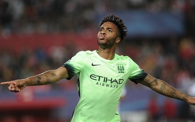 (Video) Raheem Sterling takes first Champions League goal beautifully as Man City finally show up in Europe