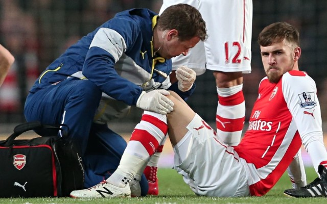 (Video) Chris Coleman brilliantly puts Arsene Wenger in his place in Aaron Ramsey injury row