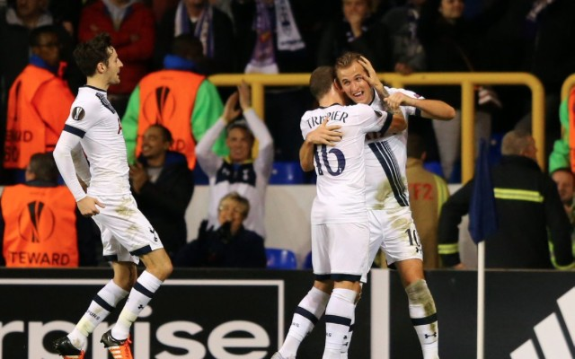 (Video) Harry Kane produces outstanding finish to cap lovely Tottenham move in Europa League clash