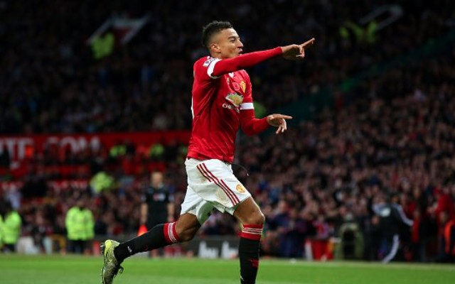 (Video) Jesse Lingard's first goal for Man United is anything but boring as 380-minute drought ends