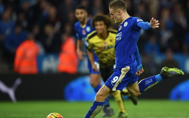 Vardy continues to party as Leicester beat Watford to pressurise Arsenal and Man City (video)