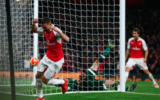 (Video) Kieran Gibbs unlikely saviour for long-ball Arsenal as Lloris costs Tottenham North London derby