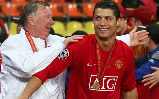 (Video) Sir Alex Ferguson & Cristiano Ronaldo look adorably pally at Real Madrid superstar's film premiere