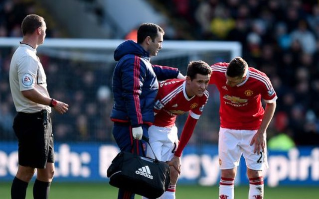 Another injury blow for Man United as midfielder limps off minutes after sublime assist (video)