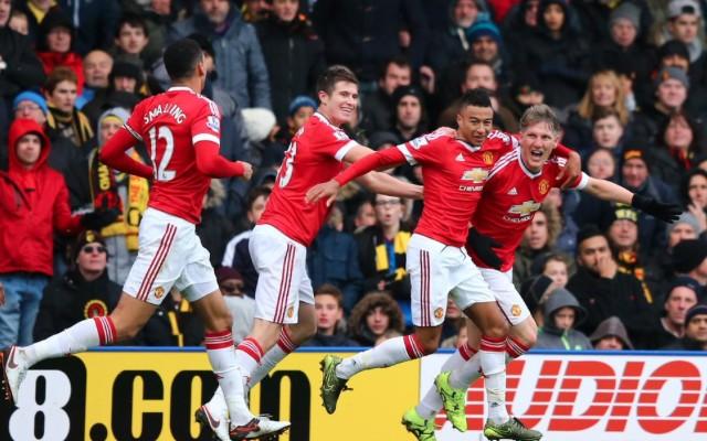 Man United steal late winner at Watford, but Schweinsteiger denied first Prem goal by revealing replay (video)