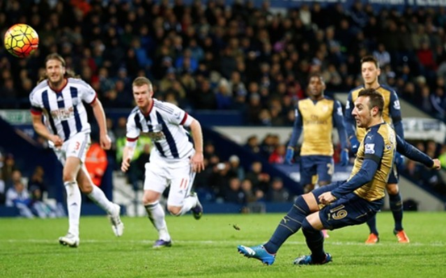 Santi Cazorla penalty miss video: Spaniard suffers more November pain as Arsenal mess up at West Brom