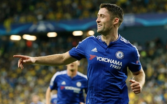 Gary Cahill goal video: Maccabi Tel Aviv undone by Chelsea's Brazilian set-piece king