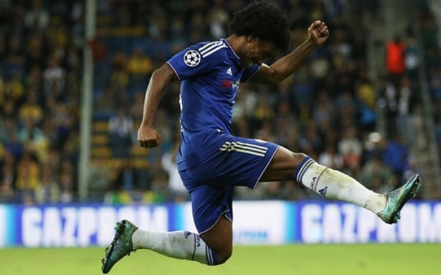Willian free kick video: Chelsea star scores sixth goal of the season – by same brilliant method