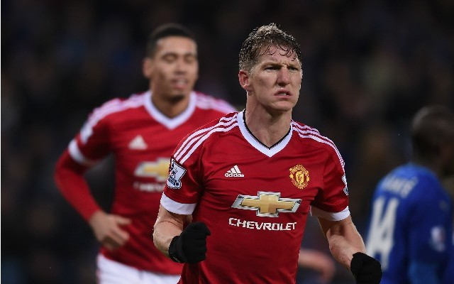 Bastian Schweinsteiger goal video: Leicester 1-1 Man United – German opens Prem scoring account