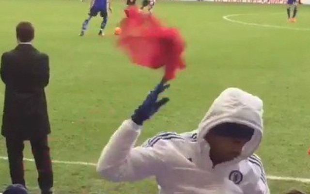(Video) Petulant Diego Costa launches bib at Mourinho as Chelsea refuse to bring him on v Tottenham