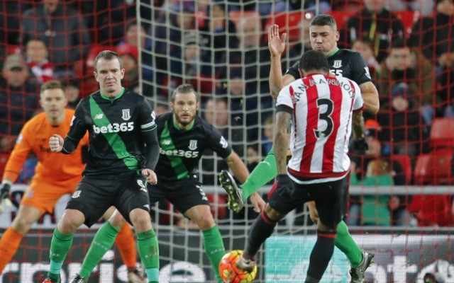 Patrick van Aanholt goal video: Piledriver helps Sunderland to successive wins over 10-man Stoke City