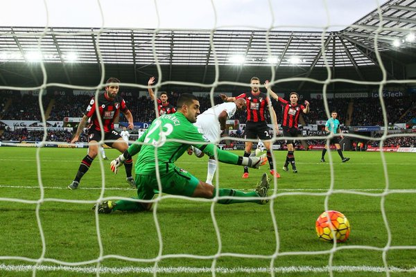 (Video) Swansea pull back from two behind to claim draw against Bournemouth