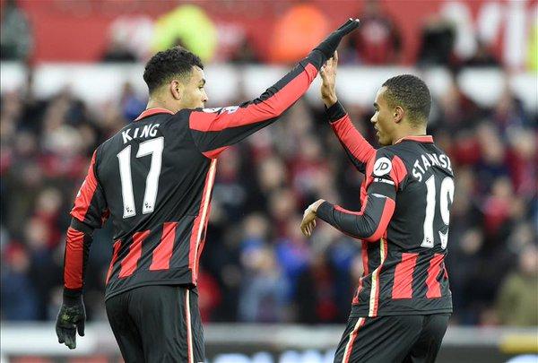 (Video) Josh King goal puts Bournemouth ahead against Swansea