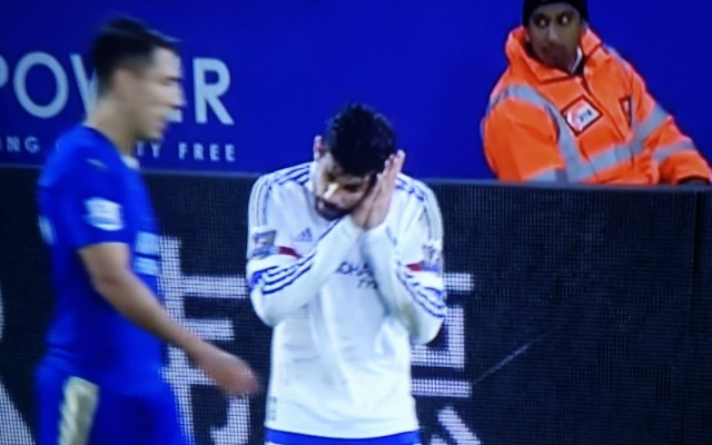 Video: Watch Diego Costa accusing his Chelsea teammates of 'sleeping' during their desperate defeat to Leicester