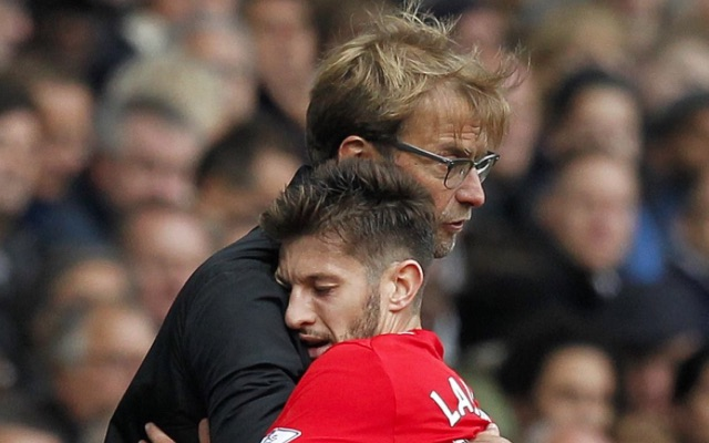 Video: Jurgen Klopp barks instructions at Adam Lallana during Liverpool's win over Sunderland