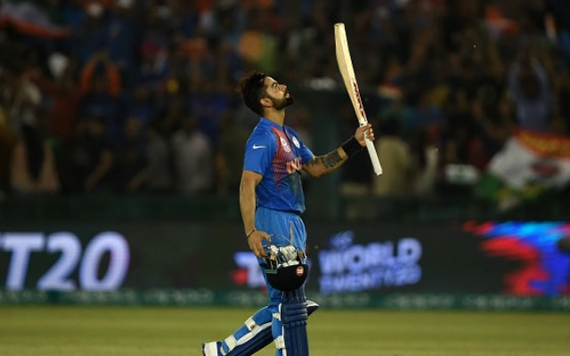 Watch: Masterful Kohil sends India into World T20 semi-finals with victory over Australia