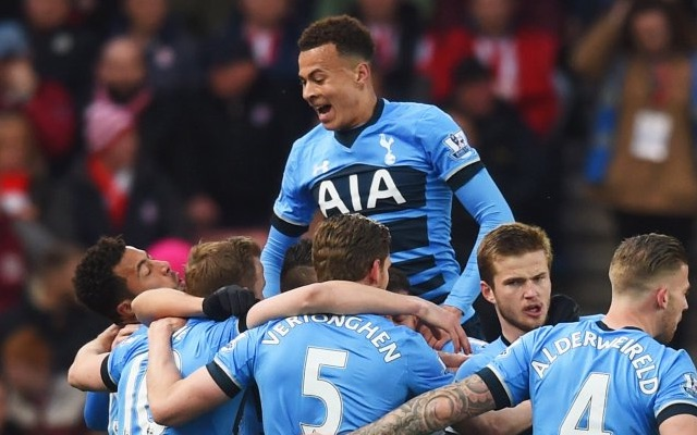 (Video) Kane and Alli at the double as stylish Spurs destroy Stoke in record-equalling rout