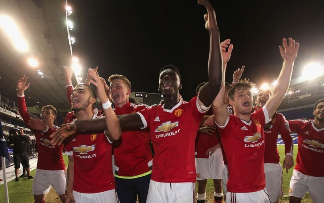 Man United clinch U21 Premier League title by beating Spurs as Varela bags winner in Fergie Time