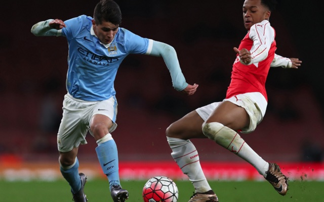Man City beat Arsenal to reach FA Youth Cup final: Watch goals & red card that never was
