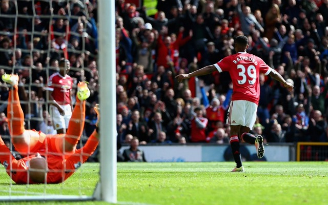 (Video) Marcus Rashford strengthens his position as Man United's most lethal striker by shooting down Villa