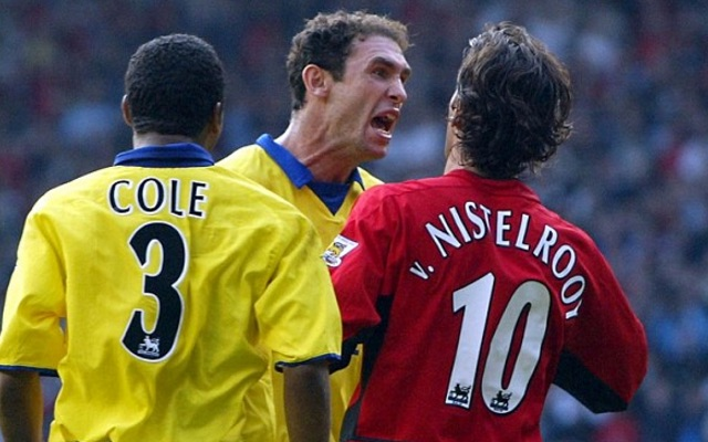 Watch gambling Gunners legend receive painful electric shock he says hurt more than a tackle from this Arsenal hardman
