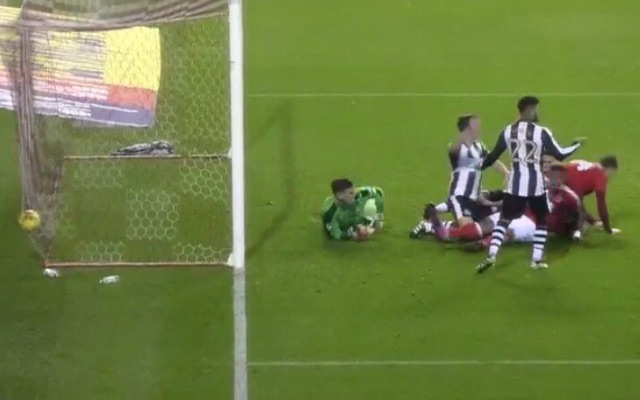 Private: (Video) Nicklas Bendtner goal caps off woeful week for Newcastle United as nine-man Magpies lose to Nottingham Forest