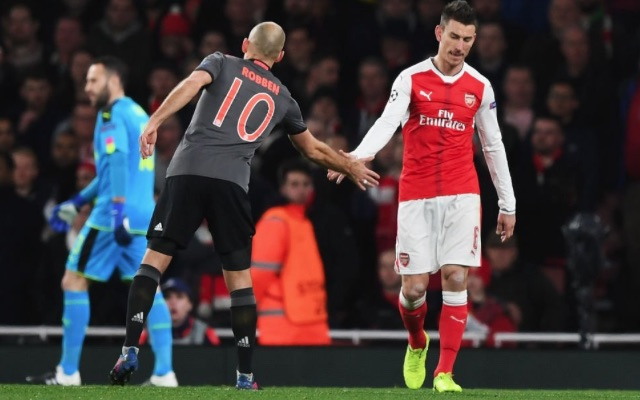 Private: Arsenal 2-10 Bayern: Laurent Koscielny red card soft, but ref and his UEFA pal got it right